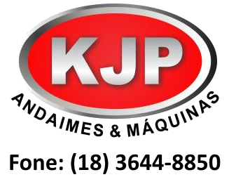 KJP ANDAIMES | Locação de andaimes, plataformas elevatórias, escoramentos, máquinas e equipamentos para construção civil e indústrias para Araçatuba, Birigui e região